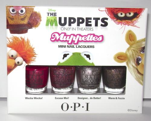 O.P.I. The Muppets