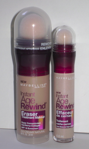 Review: Maybelline Instant Age Rewind Eraser Foundation and ...