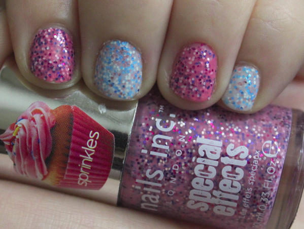 Nails Inc Special Effects Sprinkles Collection | Beauty in Budget Blog