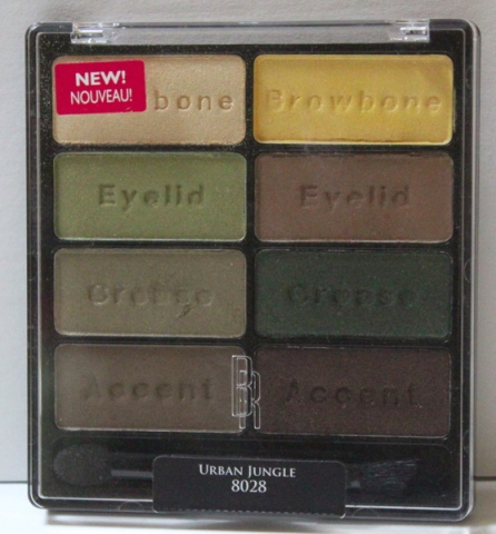 Black Radiance Eye Appeal Shadow palette in Urban Jungle