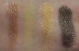 Dark Goldenrod, Sunbeam, Golden Globe, and Dark Golden Olive