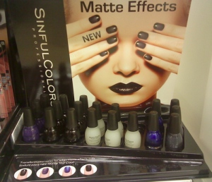 Sinful Colors Matte Effects