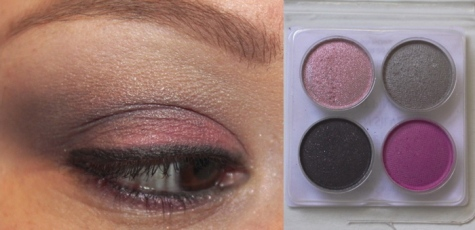 Pink and Gray Look with Coastal Scents