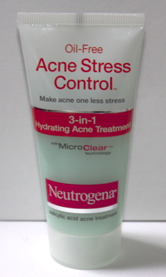 neutrogena oilfree acne stress control 3in1 hydrating acne treatment