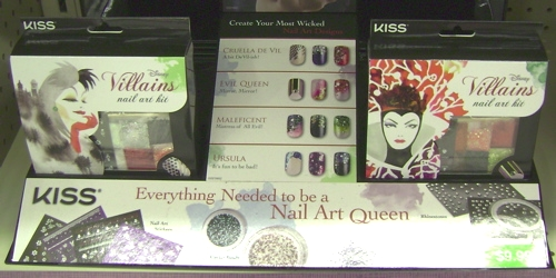 Kiss Disney Villain Nail Art Kits Beauty In Budget Blog