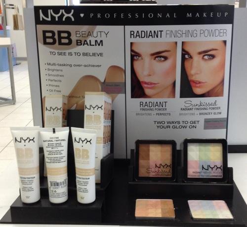 NYX BB Balm and Radiant Finishing Powder