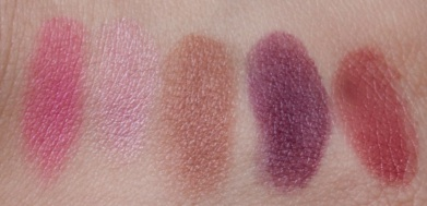 e.l.f. Studio 22 Piece Mini On The Go Palette lip colors