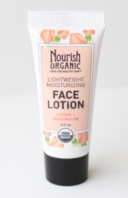 Nourish Organic's Lightweight Moisturizing Face Lotion