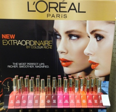 L'Oreal Extraordinaire Lip Color