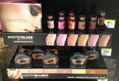 Maybelline Master-Glaze and Master-Light