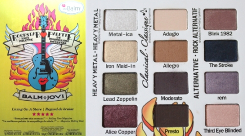 the Balm Jovi palette