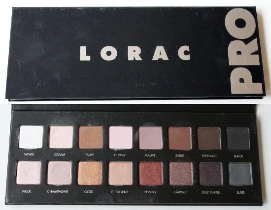 Résultats de recherche d'images pour « lorac pro palette »