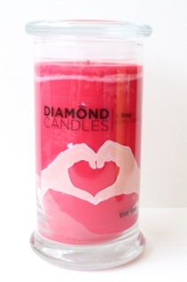 Diamond Candles True Love