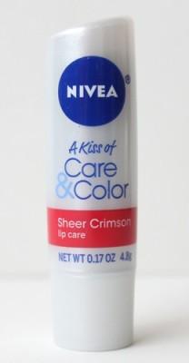 Nivea Kiss of Care & Color in Sheer Crimson