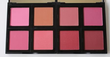e.l.f. Studio Blush Palette in Light (L) and Dark (R)