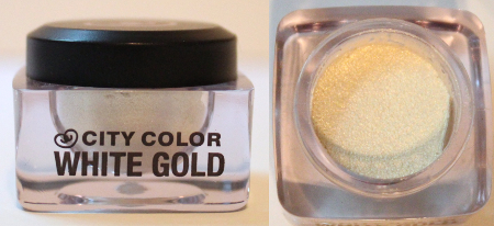 City Color White Gold Shadow & Highlight Mousse