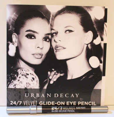 Urban Decay 24/7 Velvet Glide-On Eye Pencil in Black Velvet