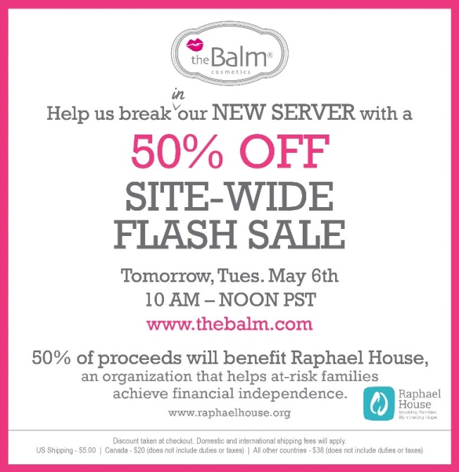 Half off Flash Sale