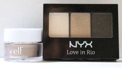 e.l.f. Cruisin' Chic and NYX Moonlit Skinny Dip
