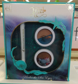 e.l.f. Disney Ariel Collection Under the Sea Eyes Set