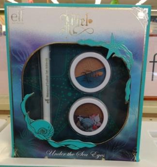 e.l.f. Disney Ariel Collection Under the Sea Eyes Set