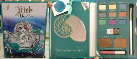 e.l.f. Disney Ariel Collection Treasure Within Beauty Book