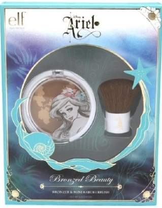 e.l.f. Disney Ariel Collection Bronzed Beauty set