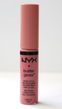 NYX Butter Gloss in Crème Brulee