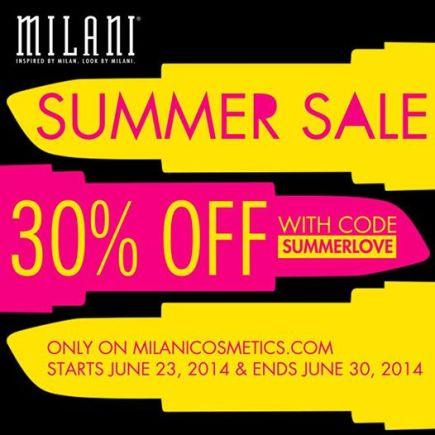Milani Summer sale