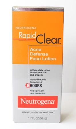 Neutrogena rapid clear defense lotion