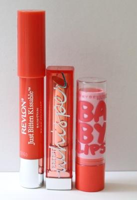 Orange and Coral lips