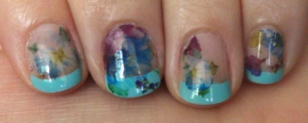 Born Pretty Store Floral Water Decals