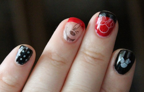 Disney Themed Manicure