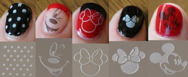 Disney Themed Manicure
