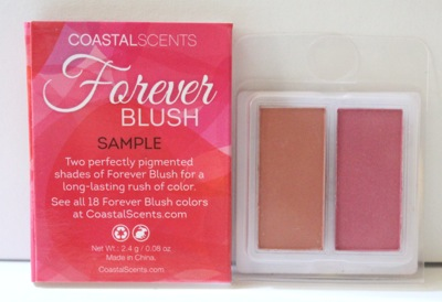 Coastal Scents Forever Blush Sample Duo