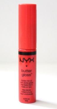 NYX Butter Gloss in Peach Cobbler