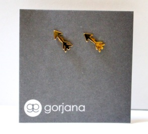 Gorjana Gold Arrow Studs