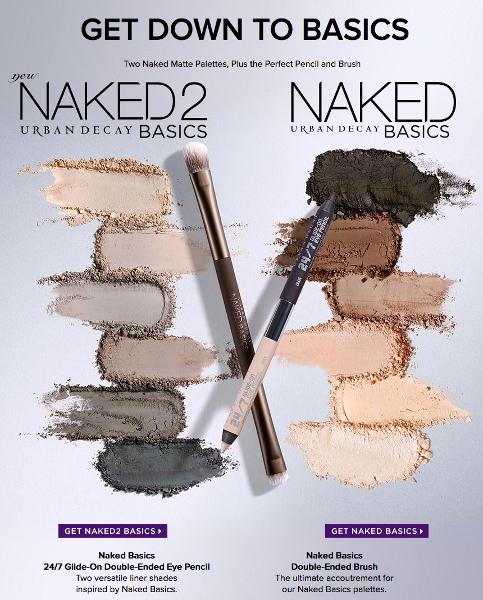 Original Naked Basics and  Naked Basics 2