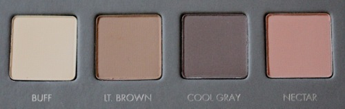 Buff, Light Brown, Cool Gray, and Nectar