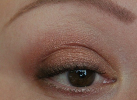 Simple Fall Eye with the Sleek Sunset Palette
