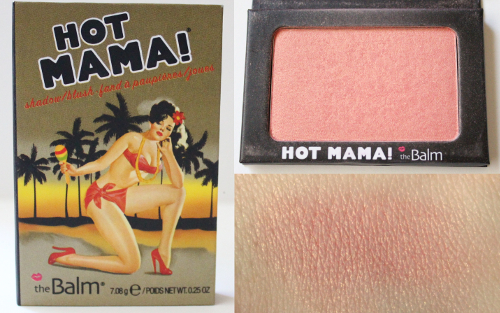 theBalm Hot Mama Blush