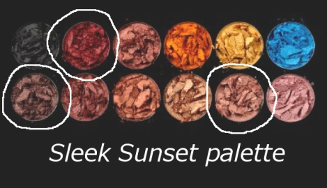 Sleek Sunset Palette