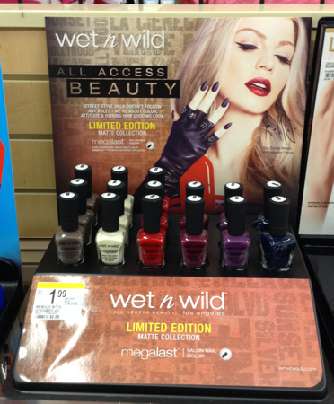 Wet n Wild Fall 2014 Limited Edition Megalast Matte Nail Colors