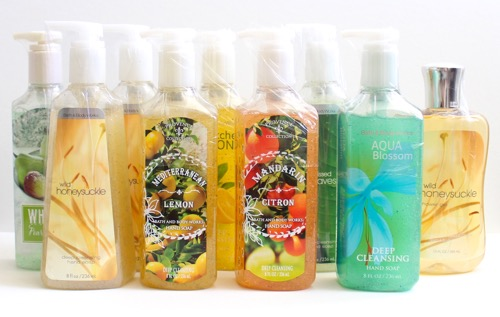Bath & Body Works Soaps