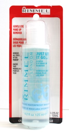 Rimmel London's Gentle Eye Makeup Remover