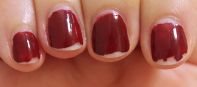 Sally Hansen Miracle Gel Dig Fig Day 5