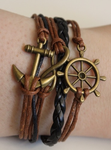 Nautical Themed Multilayer Bracelet from Born Pretty