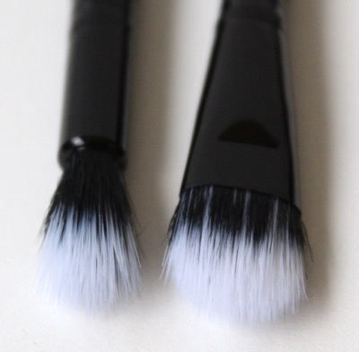 e.l.f. Studio Eyeshadow and Tapered Stipple Brushes