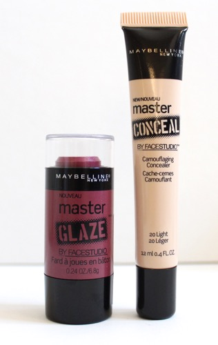Maybelline Master Glaze and Master Conceal