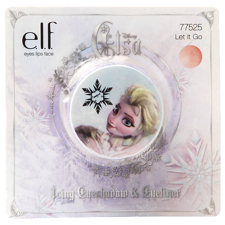 E.l.f. Disney Elsa Icing Eye Shadow & Eyeliner, Let it Go